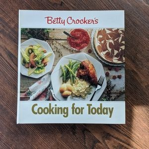 "Betty Crockers ""Cooking for Today"" cookbook"